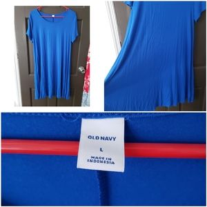 Old Navy Large T Shirt Dress